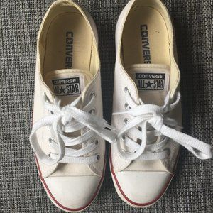 CONVERSE ALL Star white sneaker shoes